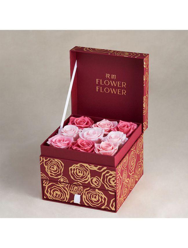 Pink Ballerina 哥倫比亞永恆玫瑰花珠寶禮盒。 圖/Talter T...