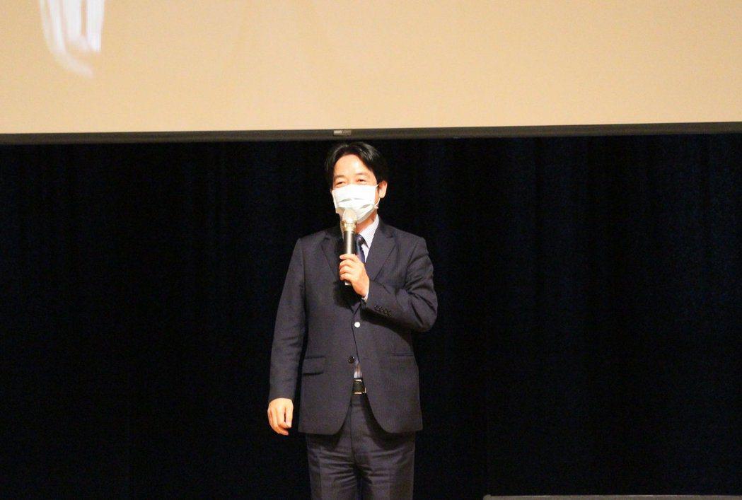 賴清德副總統強調,在疫情中,臺灣的實力被全世界看見,也顯示臺灣觀餐產業具備高度競...