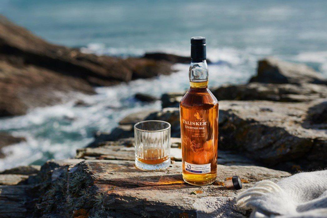 泰斯卡X系列43年限量原酒單一麥芽威士忌。DIAGEO/提供