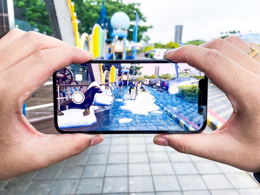 「AR虛擬水族館」帝王企鵝與海獅現身清水。 XR EXPRESS Taiwan ...