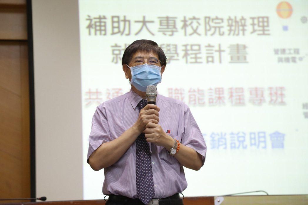 嘉藥副校長楊朝成表示嘉藥7度榮登計畫通過數全國第一。 嘉藥/提供
