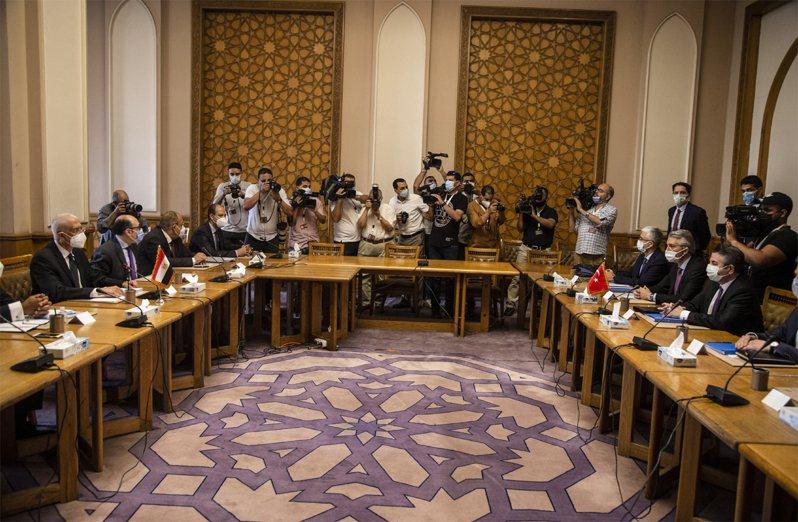 土耳其、埃及5、6日進行8年來首場外交磋商。歐新社