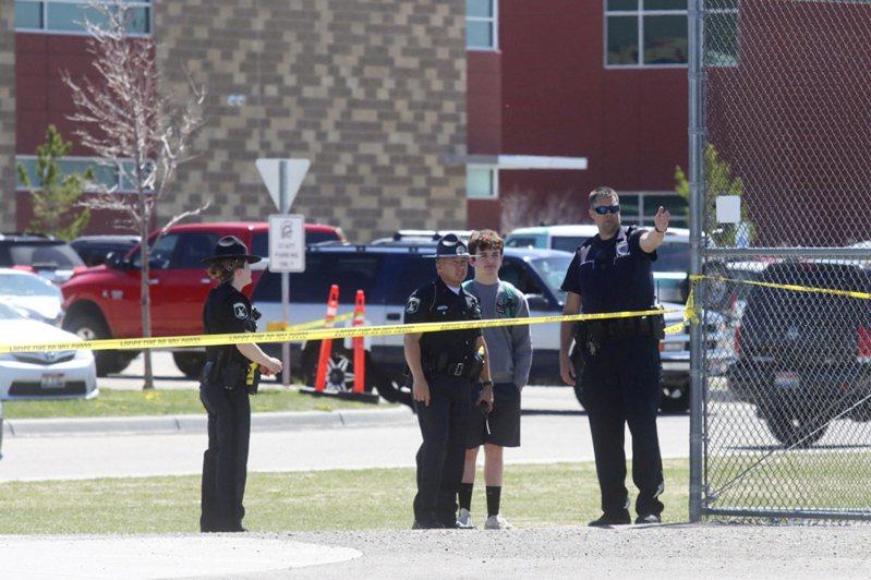 愛達荷州里格比市發生校園槍擊事件。美聯社