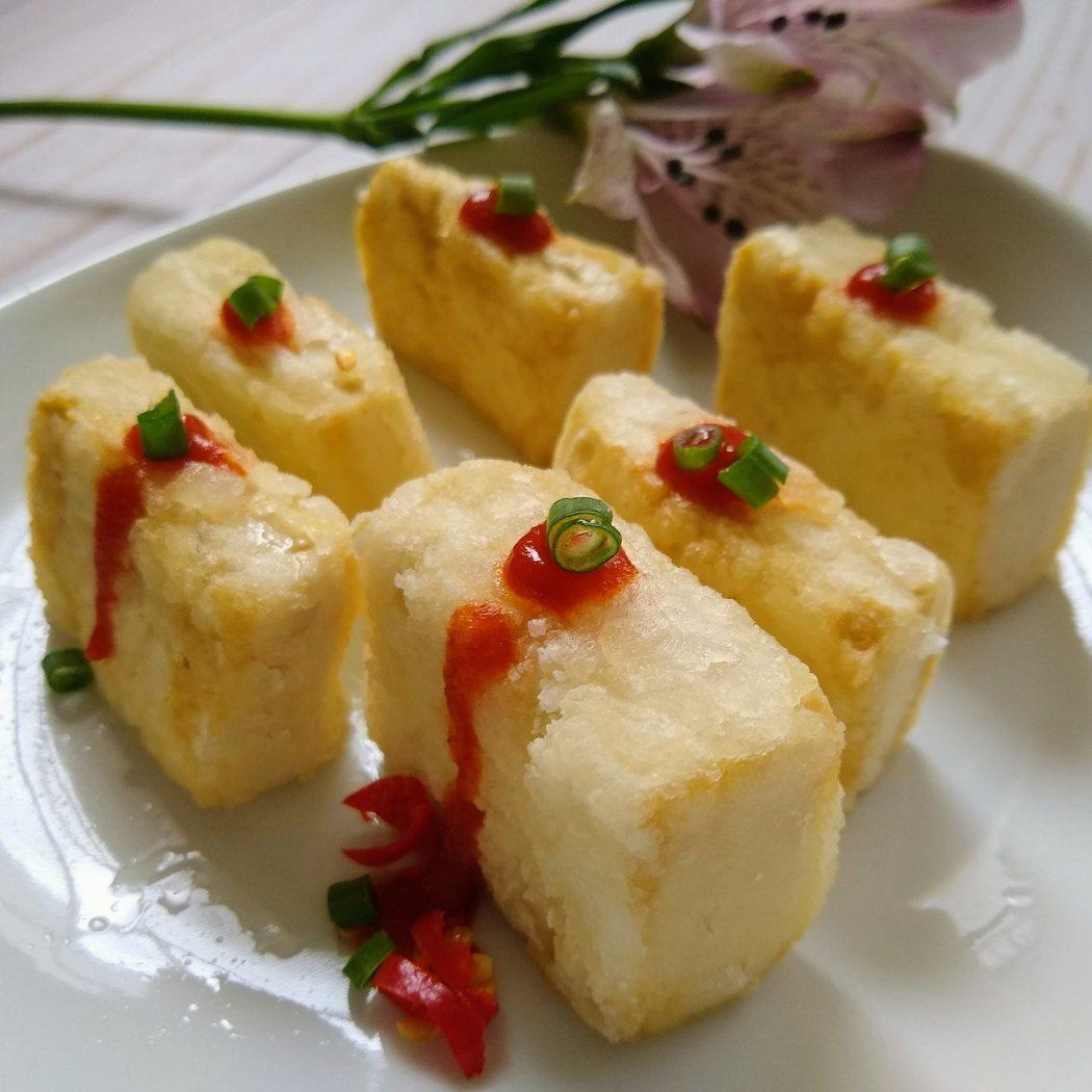 圖文:美國番媽/食譜/簡易日式炸豆腐