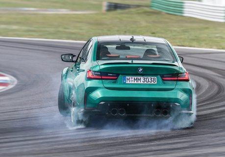 影/專家警告!馬路上別亂試BMW M3甩尾系統