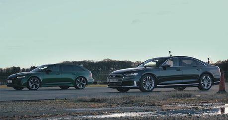 影/更輕馬力更大的Audi RS6怎麼會跑輸S8?