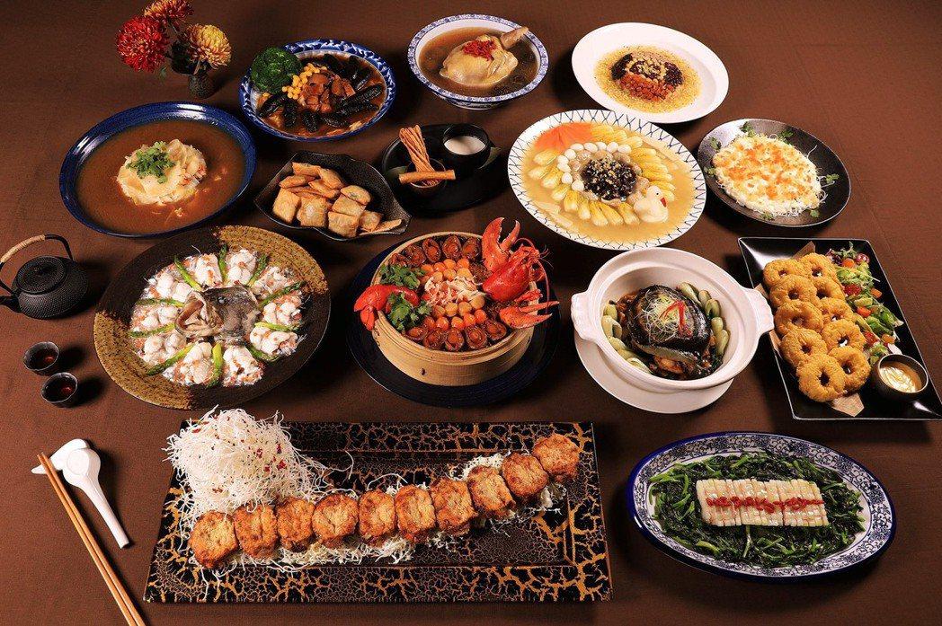 攝政宮皇太子御宴共有十四道菜 。照片提供知事官邸生活館