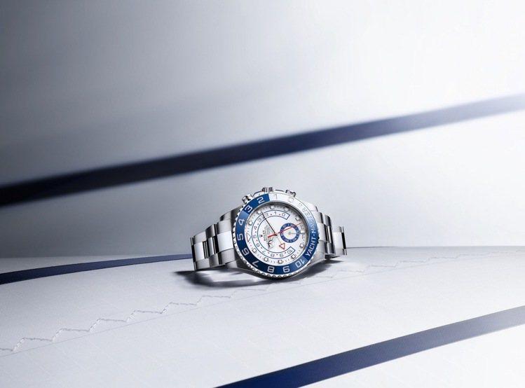勞力士 Yacht-Master II腕表,62萬元。圖 / 勞力士提供。