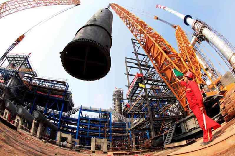 浙江官宣限制新上石化、化纖等高耗能行業項目。圖/截自中國石化官網