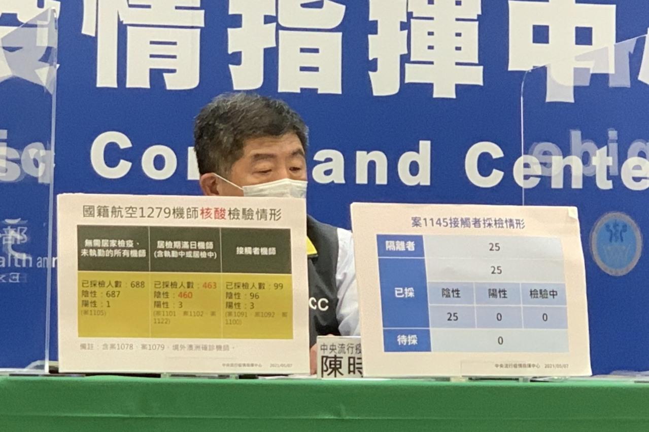 華航清零計畫已有54名造冊 陳時中否認「做半套說」