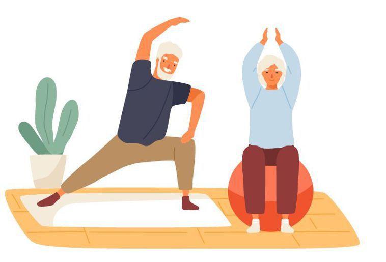 預防肌少症的良方就是運動。圖/123RF