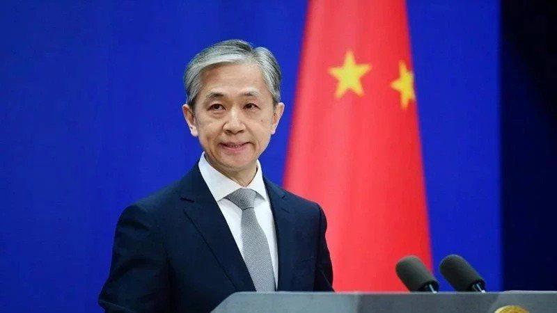 大陸外交部發言人王文斌。圖/取自中新網