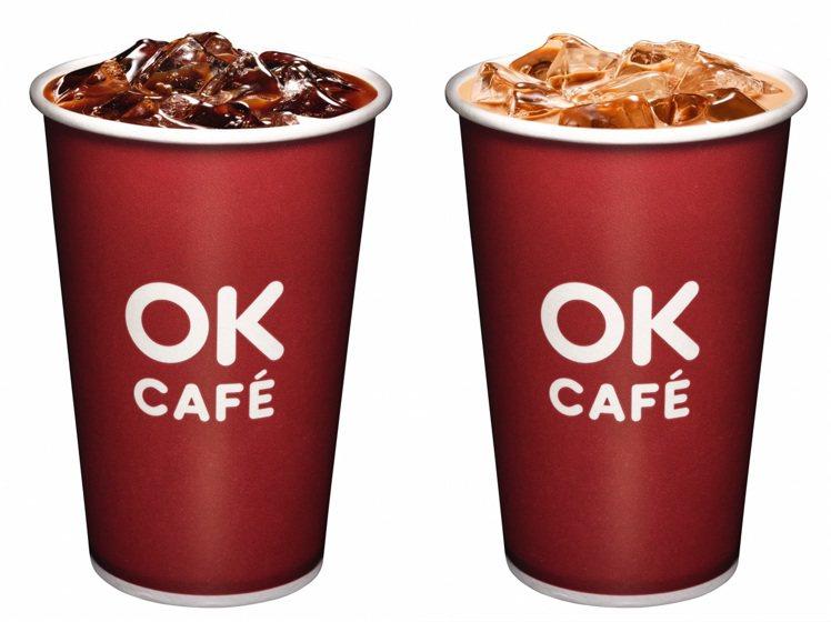 5月9日母親節當天,OKmart推出會員限定大杯莊園級美式咖啡、大杯莊園級拿鐵可...