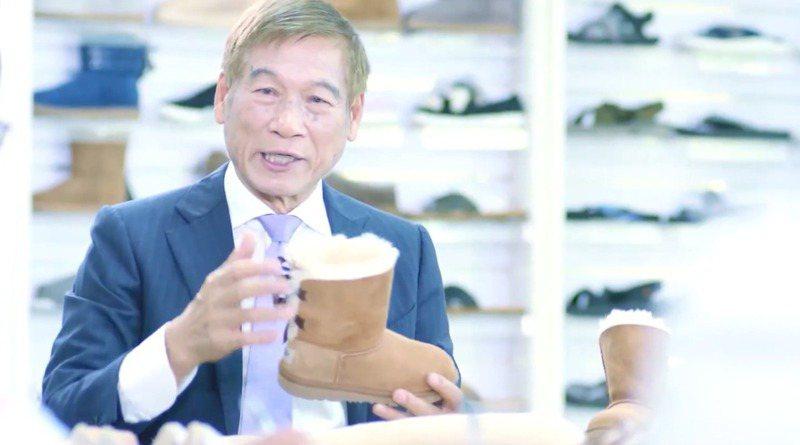 有「神祕鞋王」稱號的宏福實業創辦人張聰淵(圖),因坐擁138億美元資產,打敗鴻海郭台銘等人,奪下台灣新首富。圖/翻攝自微博視頻