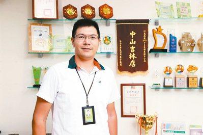 信義房屋吉林店經理陳佳煌。記者余承翰/攝影
