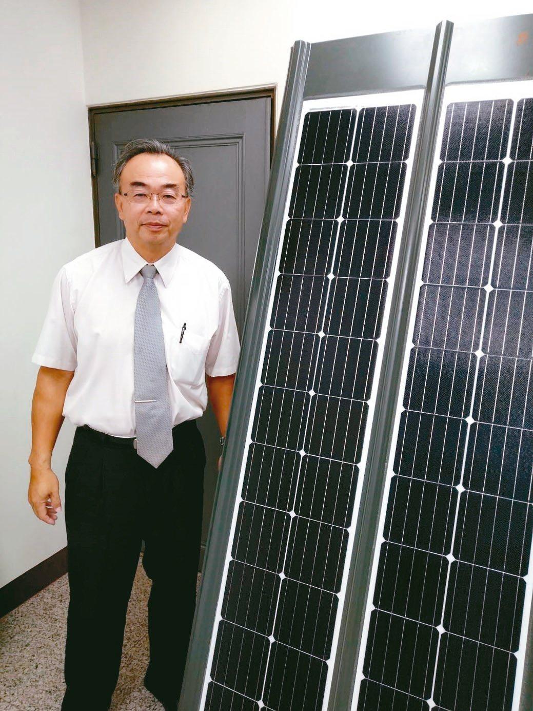 喬國能源總經理李春龍。翁永全/攝影