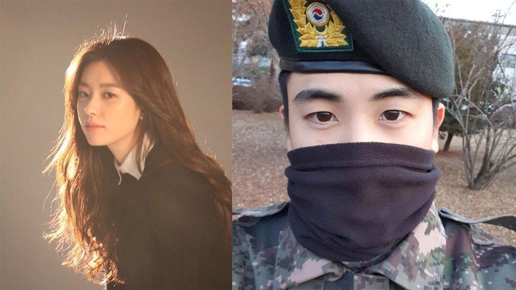 韓孝周、朴炯植演出新劇《Happiness》。圖/擷自IG
