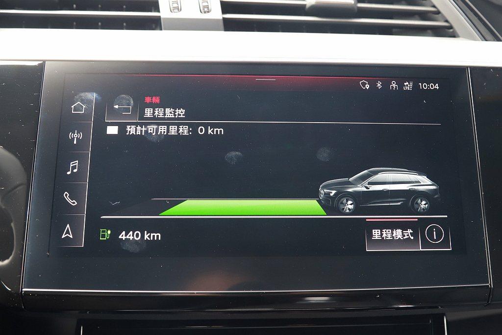 系統會記錄駕駛者習慣以及車輛狀態來估算剩餘行駛里程,所以就算電腦顯示有440km...