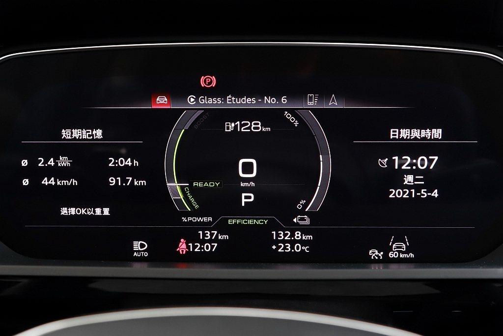 沒想到抵達午餐中途停留點「清境」時,Audi e-tron 55 quattro...