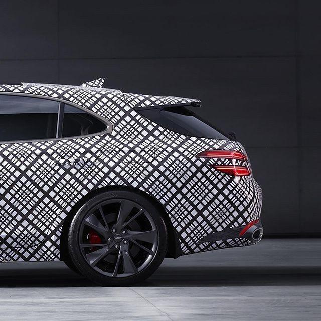 Genesis預告品牌首款豪華旅行車即將發表。 摘自Genesis