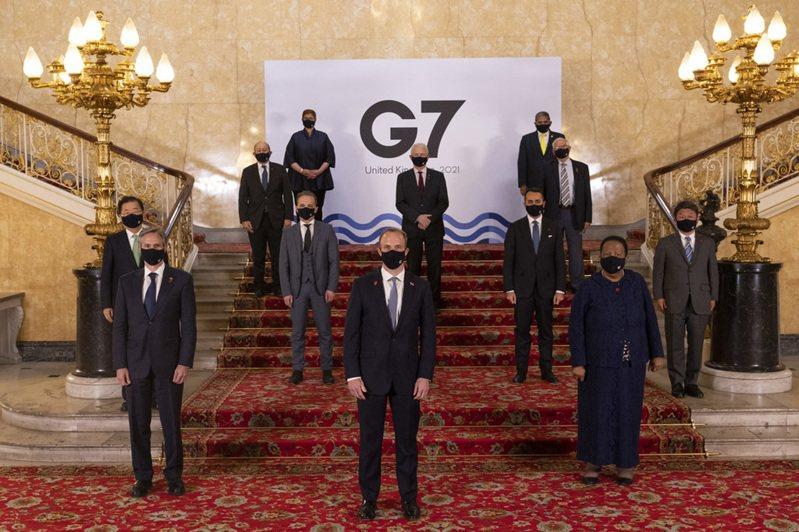 七大工業國集團(G7)外長5日在倫敦舉行會議後發布公報表示,支持台灣有意義參與世界衛生組織論壇及世界衛生大會。 中央社