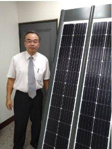 喬國能源總經理李春龍。 翁永全/攝影