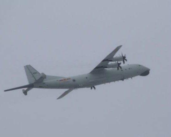 共軍運8反潛機。 圖/國防部