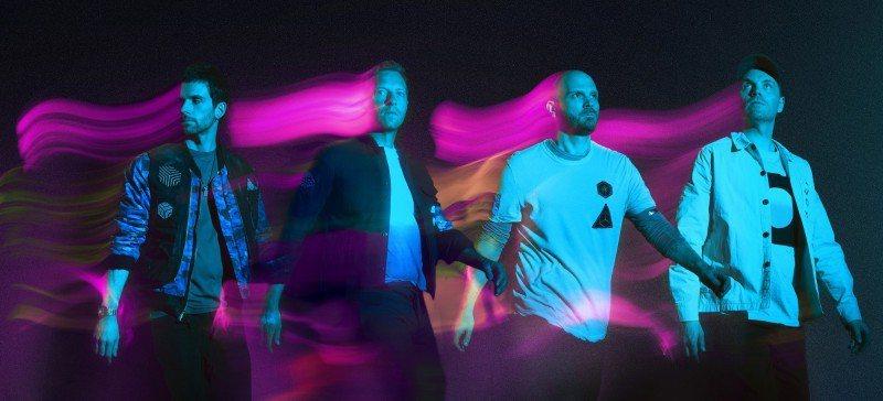 「酷玩」推出最新單曲「Higher Power」。圖/華納音樂提供