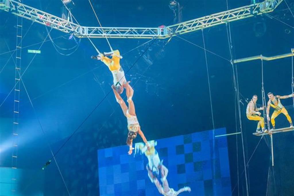 「美國大馬戲團LE GRAND CIRQUE」來台表演迴響熱烈。圖/寬宏藝術提供