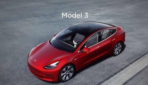 特斯拉陸製Model 3第一次宣布漲價。取自智車派