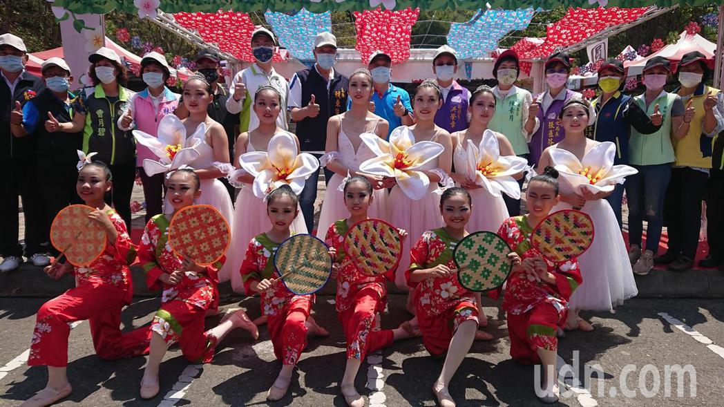 員林客家桐花祭今天開幕,啟用藤山木棧道。記者簡慧珍/攝影