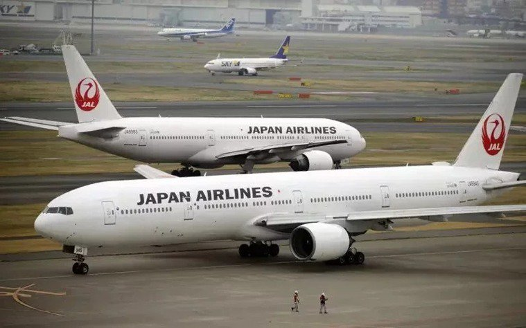 日本航空示意圖。歐新社