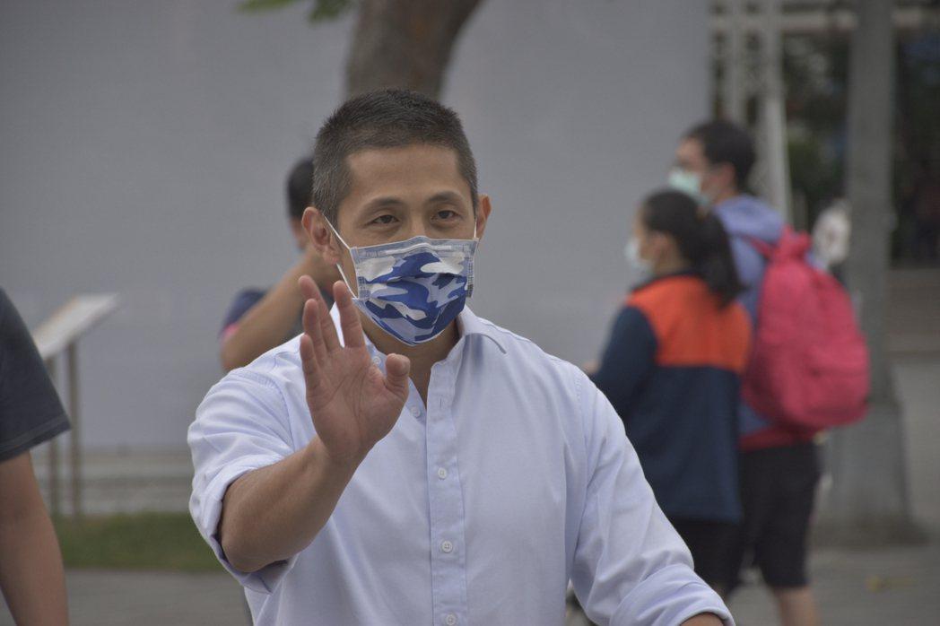 民進黨台北市黨部主委吳怡農。記者鍾維軒/攝影