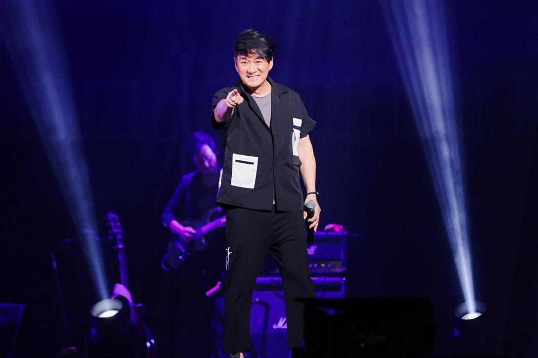 周華健的「少年俠客」8日晚南下高雄開唱。圖/滾石提供