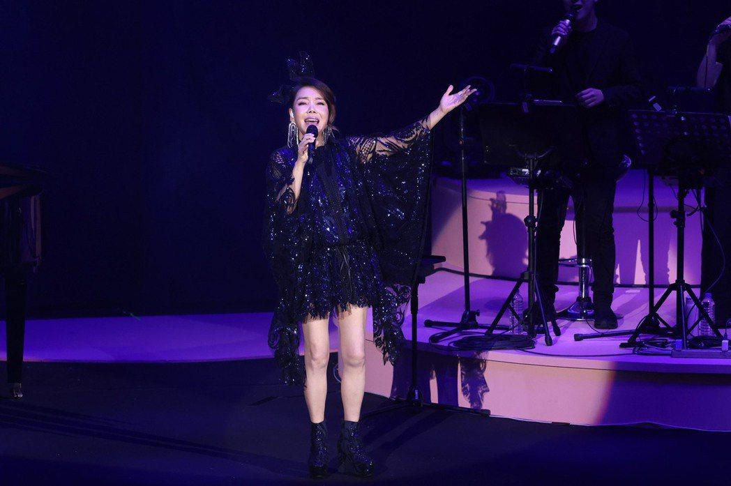辛曉琪開唱拚全台8場演唱會,讚到場粉絲眼光明智。記者王聰賢/攝影