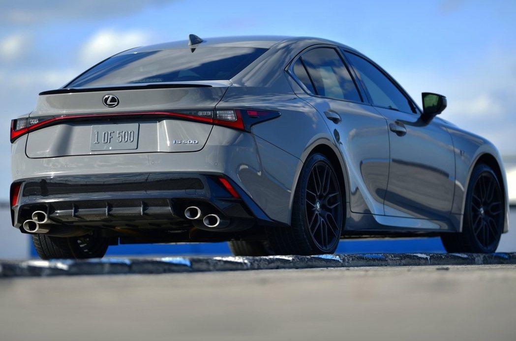 Lexus IS 500 F SPORT Performance。 摘自Lexu...