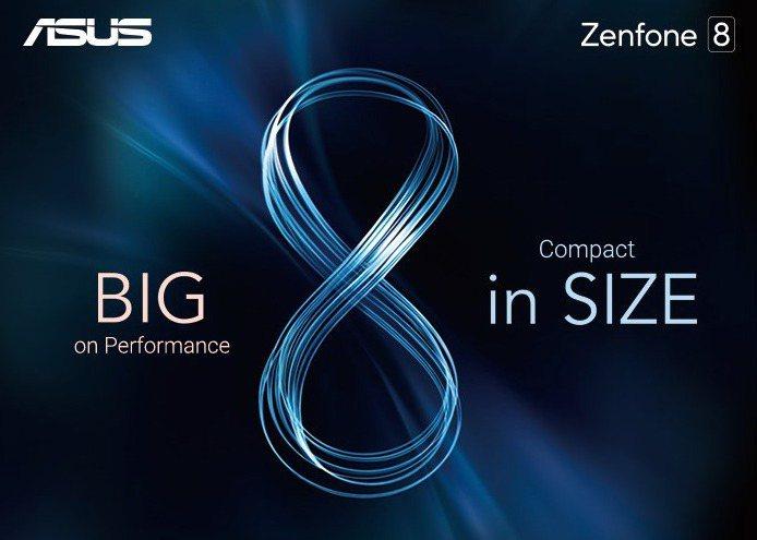 華碩周末發出媒體邀請函,正式宣告年度智慧手機旗艦機Zenfone 8 即將於台灣...
