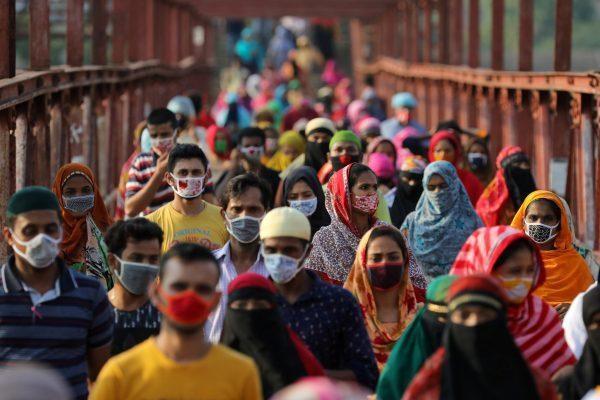 孟加拉8日首次發現印度新冠變種病毒的蹤跡。(photo by 網路截圖)