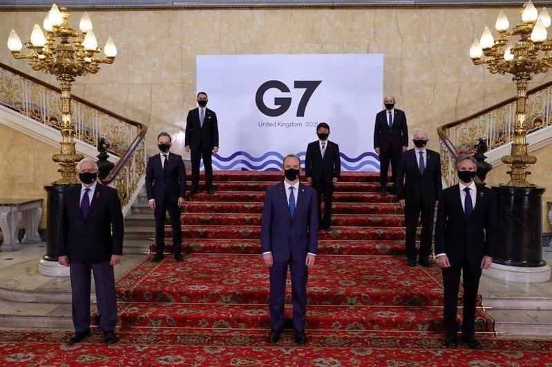 七大工業國集團(G7)外長會議後發表公報表示,支持台灣參與世界衛生組織(WHO)和世衛大會(WHA)。(photo by Twitter@G7)
