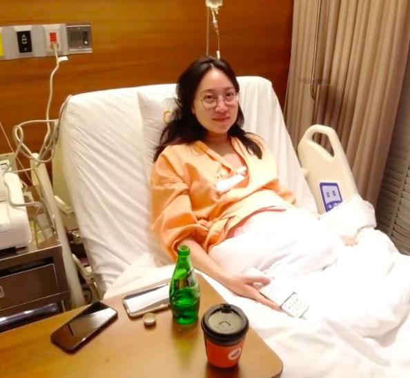 楊祐寧貼出Melinda產前陣痛的片段。圖/摘自IG