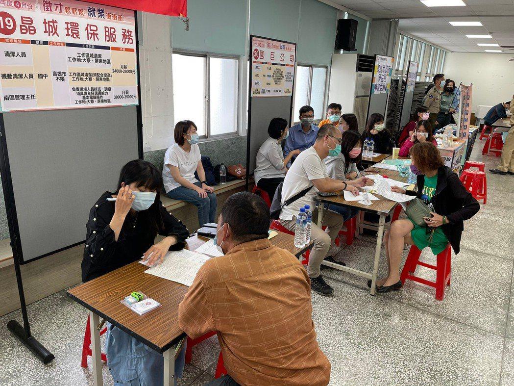 高雄市勞工局5月10日至14日舉辦7場徵才,超過50家以上廠商,釋出2千個以上職...