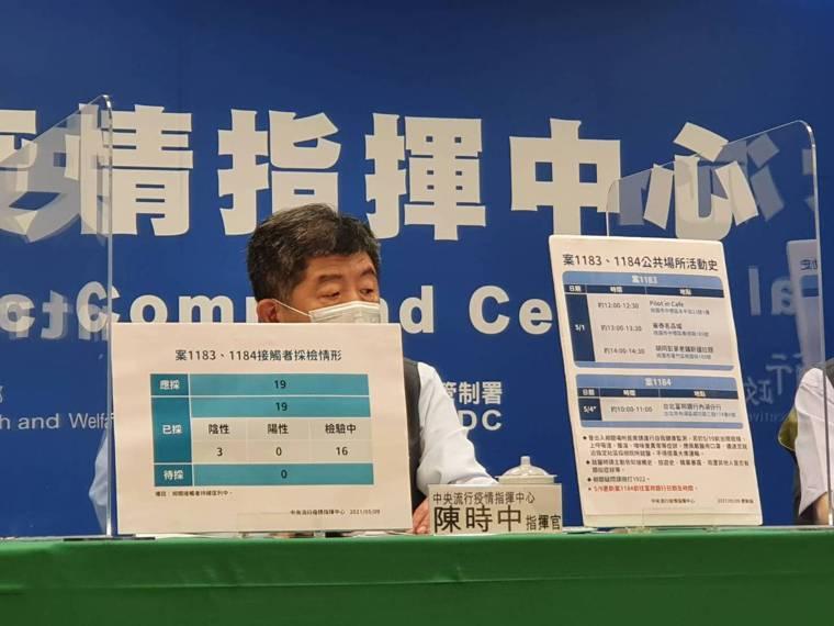 陳時中說,接種完第1劑疫苗,需間隔8到12周,才能施打第2劑,用4月20日計算,...
