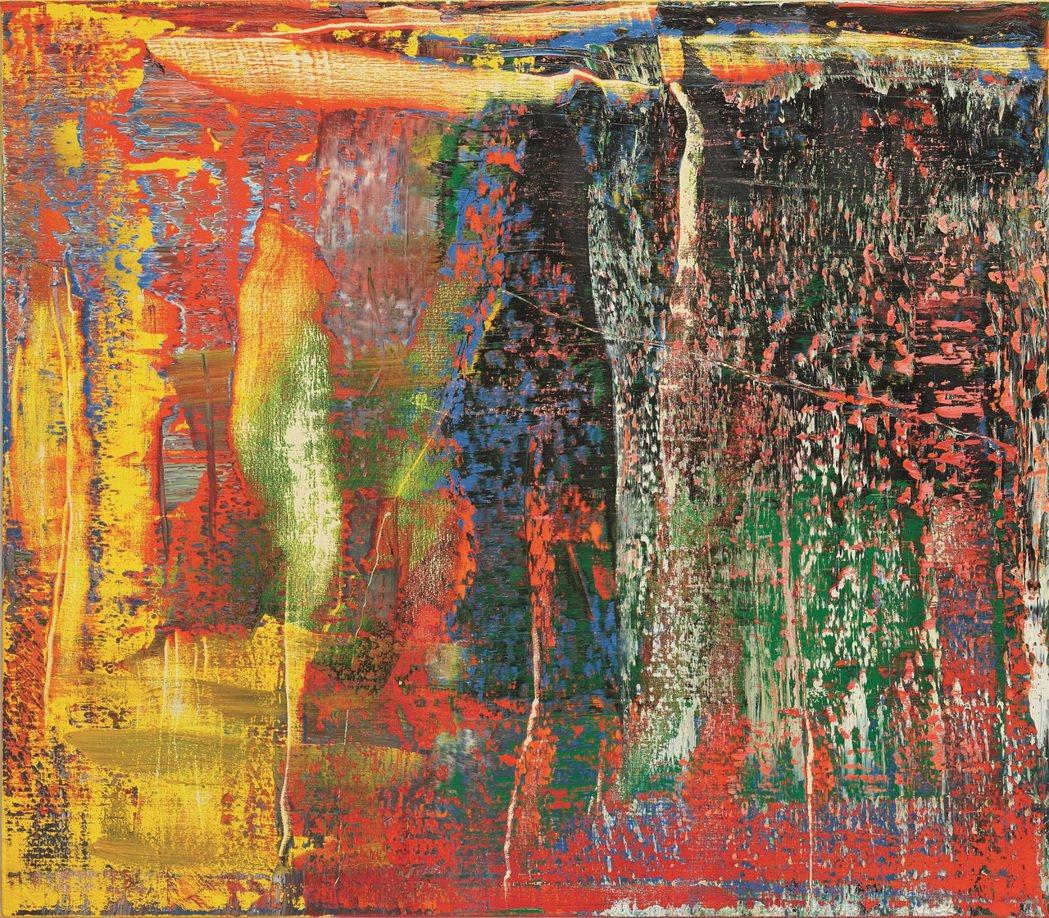 格哈特里希特「抽象畫 940-7 號」,2015年作,140x160公分,估價7...