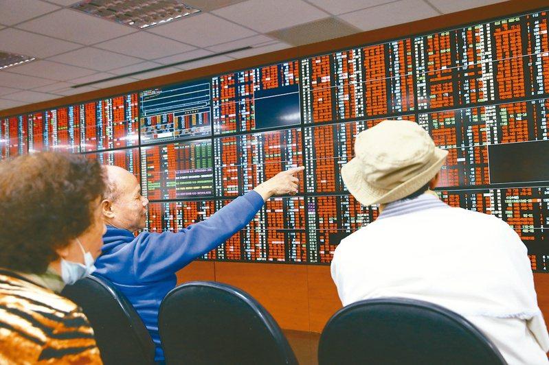台北股市人氣爆棚,成交量能強強滾,當沖占成交比重動則4成。圖/聯合報系資料照片