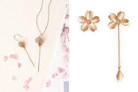 春天櫻花、夏季風鈴 輕珠寶將日本的浪漫戴上身