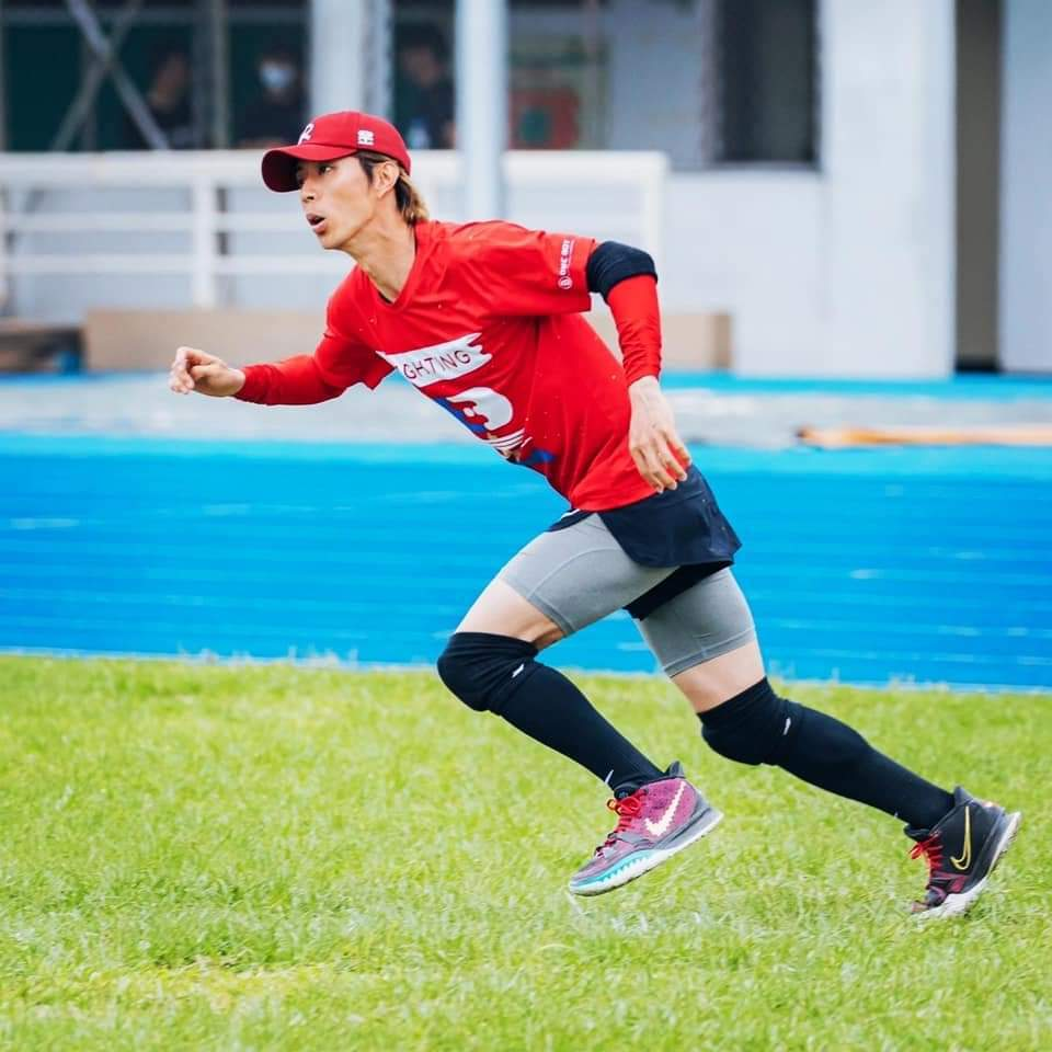 廖允杰腳嚴重受傷。圖/摘自臉書