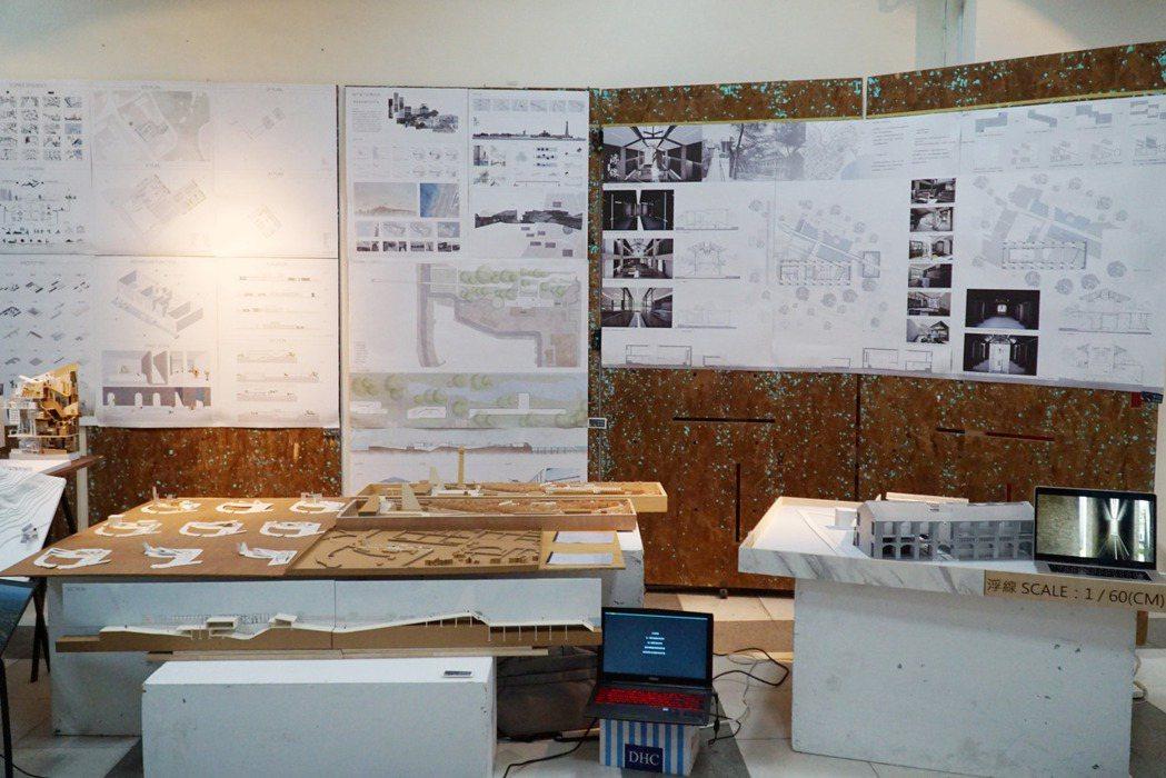 大葉大學空設系有9件作品入圍金點新秀設計獎。 大葉大學/提供。