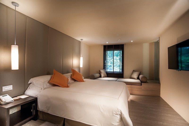 丹鳳套房裡的房間部分。 大地酒店/提供