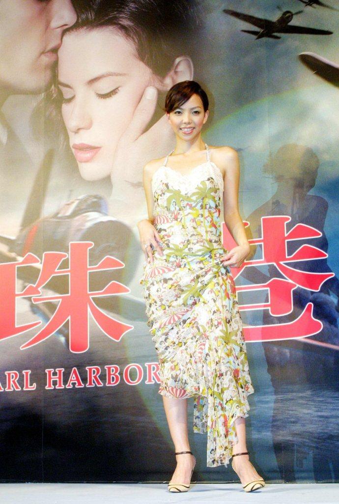 張惠妹是「珍珠港」台灣首映會上的重量級嘉賓。圖/報系資料照片