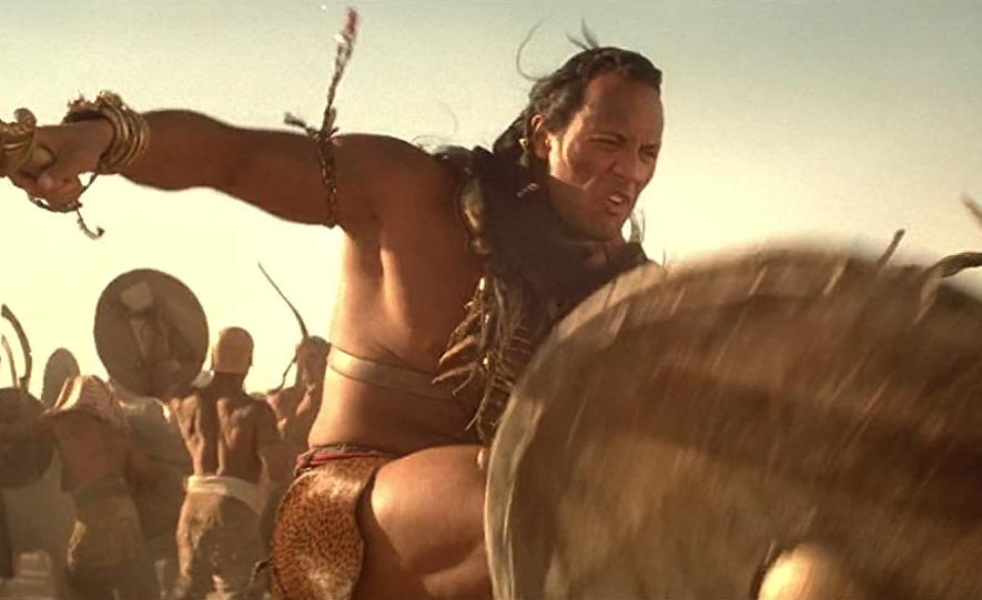 「神鬼傳奇2」是巨石強森第一部電影。圖/摘自imdb